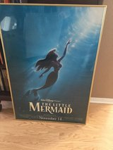 The Little Mermaid 1997 Re-Release Movie Poster Double Sided Original - Disney Princess in Camp Pendleton, California
