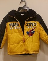 3T Spiderman Reversible Winter Jacket in Bolingbrook, Illinois
