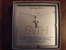 ***BRAND NEW***Silver Cross Necklace*** in Kingwood, Texas