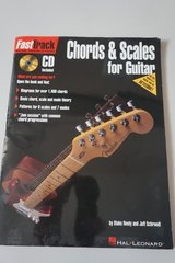 Fast Track Chords and Scales for Guitar Book with CD included in Oswego, Illinois