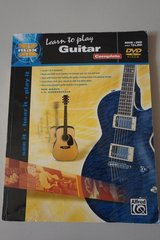 Learn to Play Guitar Book and DVD included in Oswego, Illinois