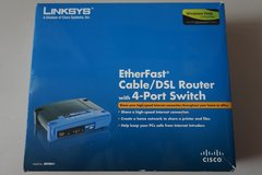 Linksys EtherFast Cable/DSL Router with 4-Port Switch in Joliet, Illinois
