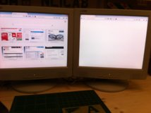 2 great Liteon monitors for sale in Ramstein, Germany