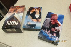 """""""Titanic"""" Movie On 2 VHS Cassettes - Excellent Condition! - REDUCED! in Houston, Texas"""