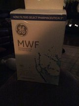 Certified GE refrigerator water filter new in box (MWF) in Yorkville, Illinois