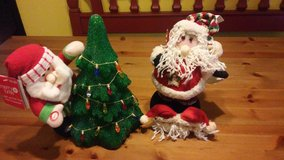 Santa Claus plush/Christmas in The Woodlands, Texas