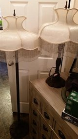 Iron Scroll Leaf / Beaded / 2 Piece Lamp Set in Fort Campbell, Kentucky