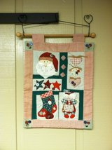 SANTA  WALL HANGING in Oswego, Illinois
