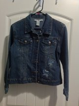 Junior Jeans Jacket size Large in Fort Campbell, Kentucky