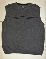 XL Boy's Sweater Vest - Charcoal Grey GREAT FOR DRESS OR CASUAL! in Naperville, Illinois