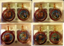 Garfield Heirloom Porcelain Christmas Ornaments - set of 8 in Schaumburg, Illinois
