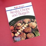 WEBER / SUNSET STEAKS, CHOPS and BURGERS -  1996 COOKING GUIDE /COOKBOOK OOP in Naperville, Illinois