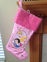 NEW DISNEY PRINCESS Christmas Holiday Large Stocking in Glendale Heights, Illinois