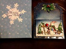 Holiday card holder in St. Charles, Illinois