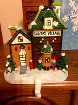 Santa's Village, Mantle Christmas stocking holder, Holds up to 5# in St. Charles, Illinois