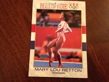 Mary Lou Retton Olympic Card in Chicago, Illinois