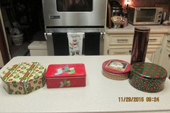 Christmas Tins For Sale in Houston, Texas