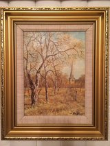 Oil Painting- All Saints Church, Woodford Green Essex England in Camp Lejeune, North Carolina