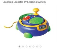 leapster system plus 5 GAMES!! in Fort Campbell, Kentucky