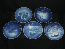 Royal Copenhagen Denmark Bing & Grondahl Christmas Plates in Aurora, Illinois