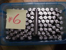 NEW STAINLESS 12mm ANCHOR BOLTS (90 PIECES) in Okinawa, Japan