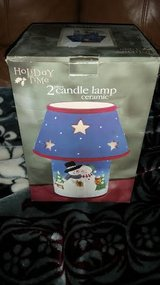 New / Snowman Candle Lamp in Fort Campbell, Kentucky