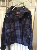 ***BRAND NEW***Hooded Double Breasted Coat***Junior XL in Kingwood, Texas