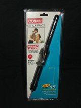 Conair Euro Curling Iron Dual Voltage Instant Heat NEW in Westmont, Illinois