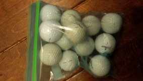 Golf balls in Fort Benning, Georgia