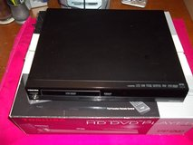 TOSHIBA DELUXE REMOTE HD DVD PLAYER: like new still in box, only 39.00 in Fort Knox, Kentucky