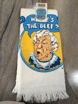 """Where's the Beef?""-Hand/dish towel in Clarksville, Tennessee"