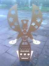 Golden Medal Angel about 5 feet in Ramstein, Germany