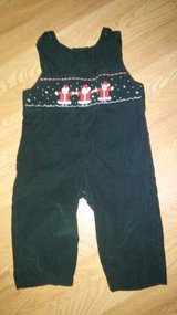 24 month Santa overalls in Spring, Texas