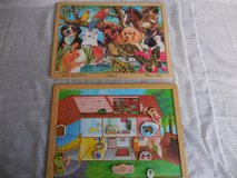 2 Melissa & Doug Pets Puzzle and Magnetic Dollhouse in Glendale Heights, Illinois