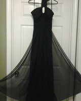 *NEW* Black Formal Dress w/Rhinestone Broach in Eglin AFB, Florida