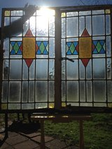 50% OFF ALL Antique English Leaded Stain Glass Window's in Cherry Point, North Carolina