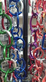 Carabiners in Yucca Valley, California