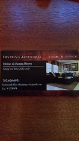 House cleaning, Office cleaning.  Rivera's Janitorial. in Travis AFB, California