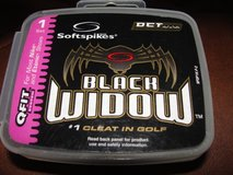 """SOFTSPIKES """"BLACK WIDOW"""" FOR GOLF SHOES in Camp Lejeune, North Carolina"""
