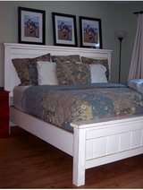 Wood bed twin full queen King farm barn rustic in Camp Lejeune, North Carolina