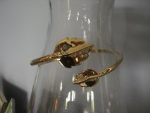Bangle Accent Goldtone Bracelet in Cherry Point, North Carolina