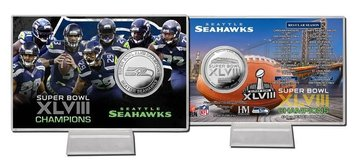 *** Seattle Seahawks Highland Mint Schedule Coin Card *** in Tacoma, Washington