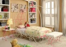Princess Carriage Bed in Fort Irwin, California