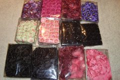 Decorative silk flowers by tray, large variety of colors. More you buy better price. in Ramstein, Germany