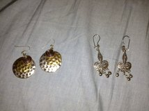 Silver Tone Earrings in Naperville, Illinois