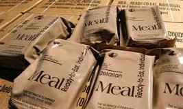 Cash Paid For MRE's, First Strike and Cold Weather Rations. in Lakenheath, UK