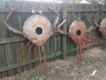 Folk Art Local Welder Aweome Outside or Inside Focal Item in Cherry Point, North Carolina