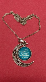 I Love you to the Moon...necklace in Yucca Valley, California