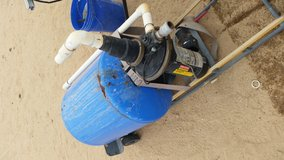water pump in Yucca Valley, California