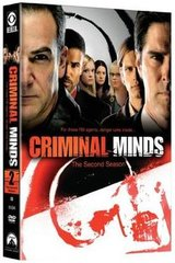 Criminal Minds season 2 on dvd in Camp Pendleton, California